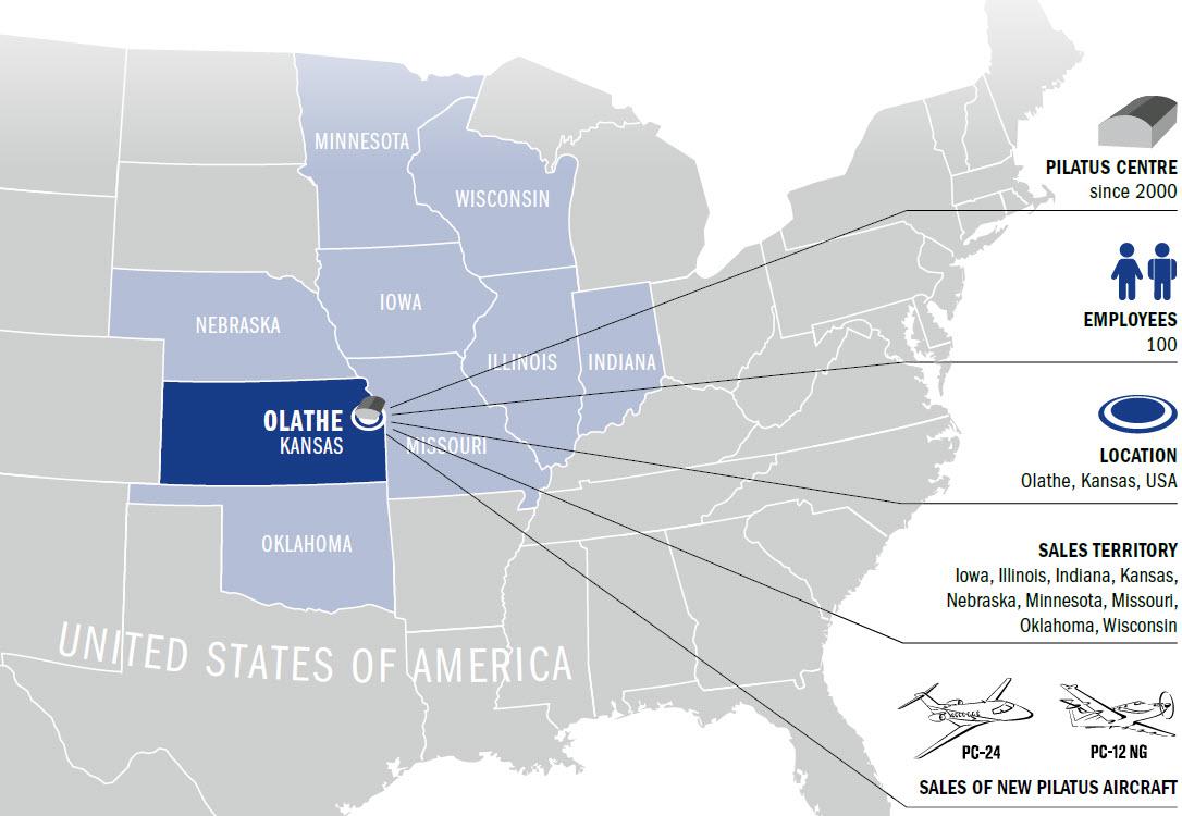 Kansas City Aviation Center – Das Autorisierte Pilatus ...